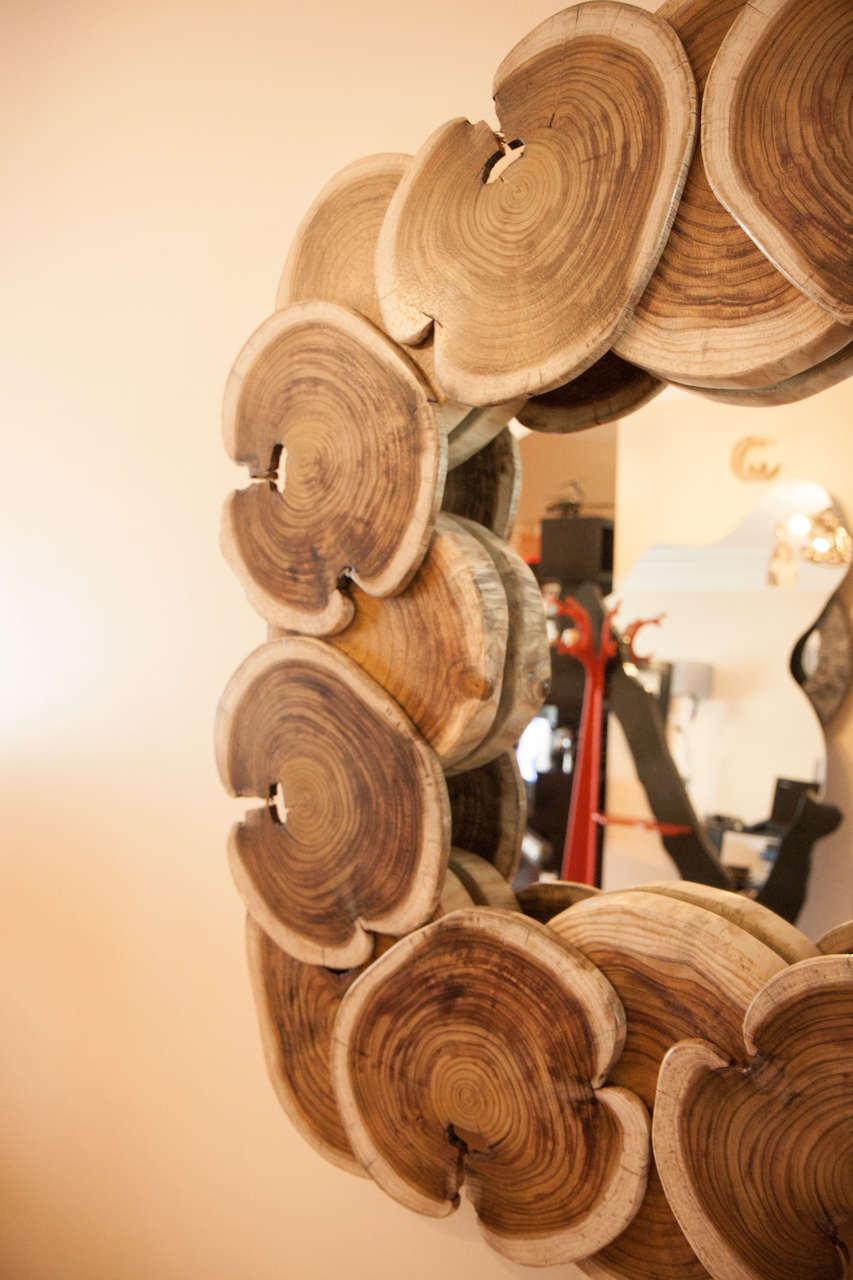 Espejo de Madera | bromeliaI