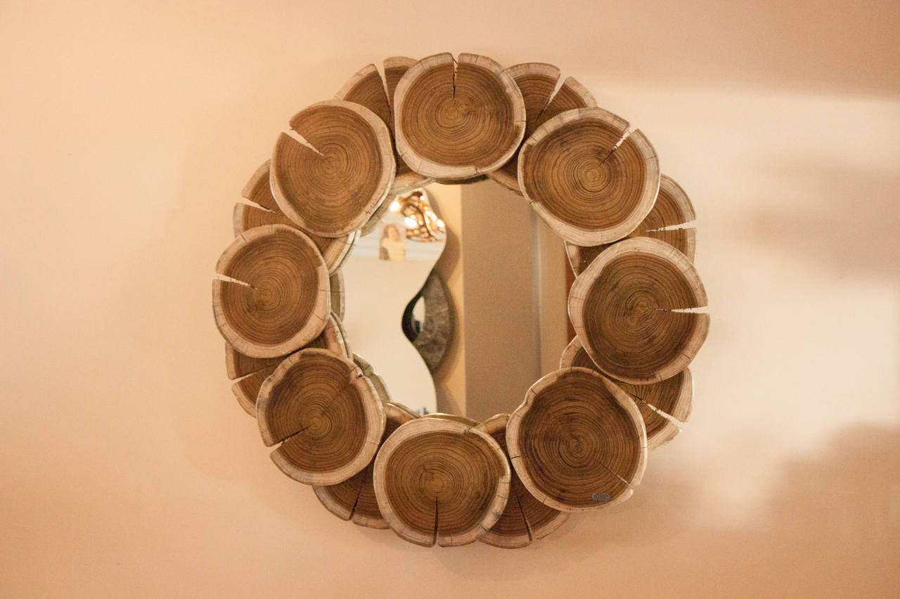 Wood Mirror | bromeliaIV