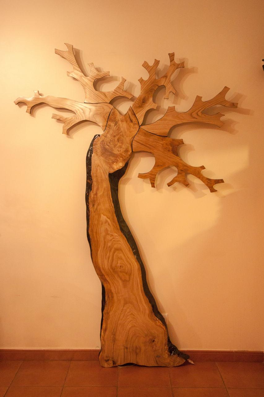 Árbol decorativo con LEDs | lignumI